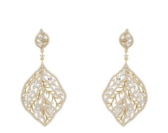 Enchanted Forest Earring Gold