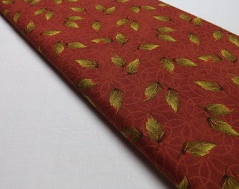 Maywood Studio 1928 Red Leaves by Jackie Robinson Quilting and Sewing Cottons Fall Quilt Fabric Textiles Falling Leaves Cotton