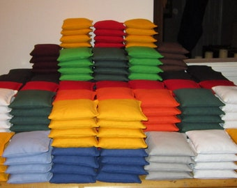 Cornhole Bags - Set of 8 - Free shipping! Baggo Bean Bags Corn Toss - Lots of colors
