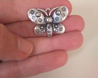 Set of 10pcs metal Butterfly pendants