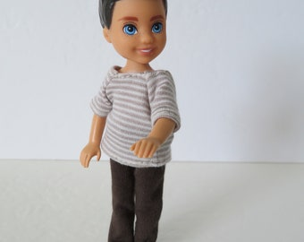 CHELSEA BOY Doll Brown Pants Outfit