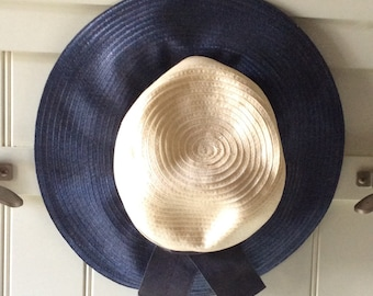 Vintage Union Made Straw Hat