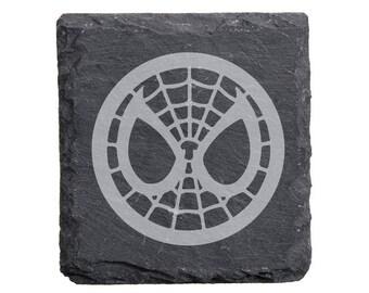 Spiderman Slate Coaster Set