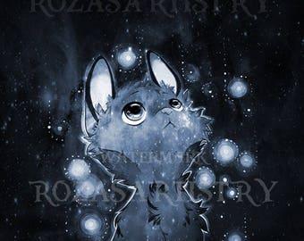 Cat Art Print HQ Original Artwork