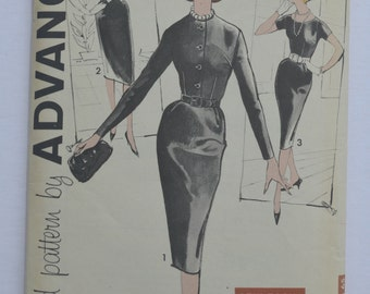 Vintage 1960's Sewing Pattern Advance 9545