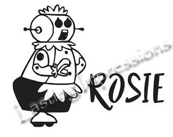 Rosie - Jetsons - Instant Pot or Crock Pot Vinyl