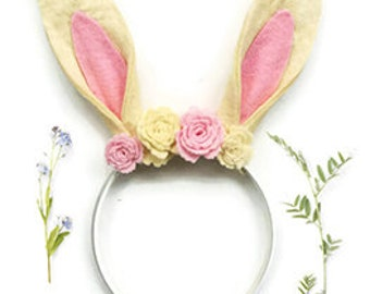 Rabbit Ears Headband - Bunny Ears Hairband - Easter Outfit - Hair Accessory - Easter Bunny - Woodland Animals - Easter Prop - Photo Prop