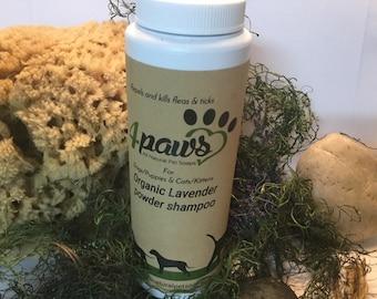 Organic Lavender Powder Shampoo( 8oz)
