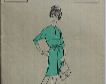 """vintage Sewing pattern. The People no 980. dress pattern. bust 40"""""""