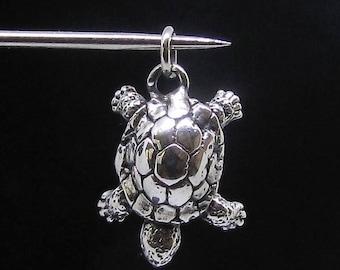 Sterling silver Animal pendant Turtle