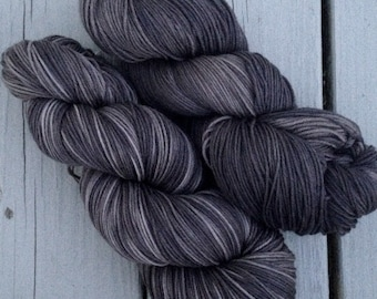Liminally Exhausted - NEW hand dyed superwash Merino super soft wool blend sock yarn 462 yards 100 grams