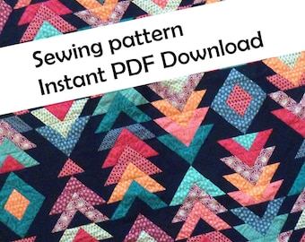 Victory Quilt PDF sewing pattern