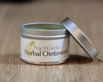 Herbal Ointment: Natural Neosporin, Miracle Balm, 1.75 oz.