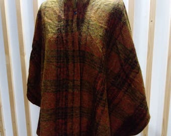 Cape, poncho, cape wool poncho woolen, wool, wool poncho cape, jacket wool jacket.