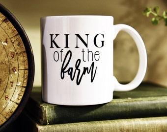 KING of THE FARM Coffee Mug