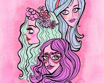 Bubblegum gang by Neysa Bové