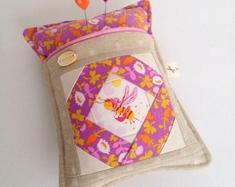 Made to order Nanny bee works the briar rose patch Stitcharmony pincushion