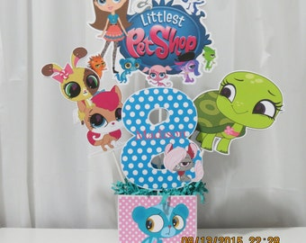 My Littlest Pet Shop Centerpiece