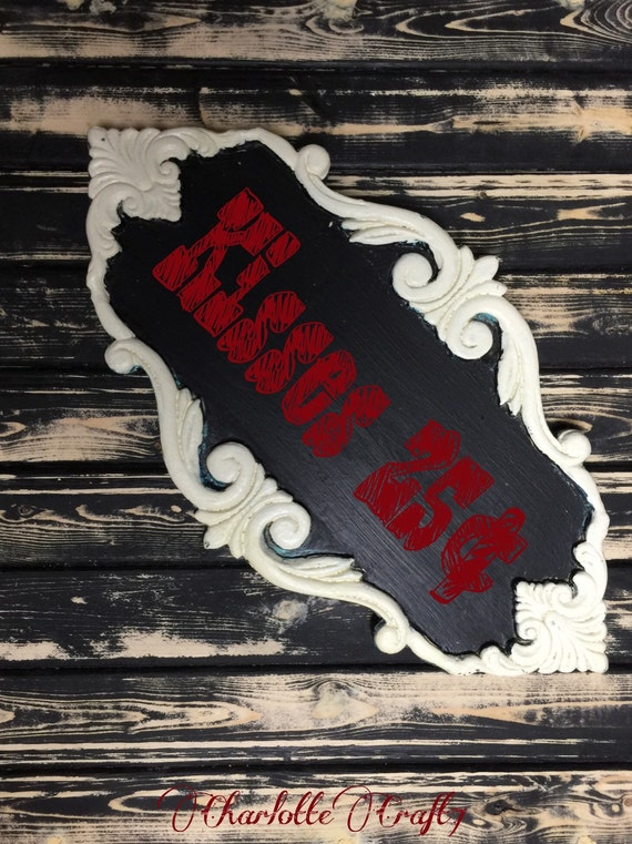Chalkboard Sign Photography Prop