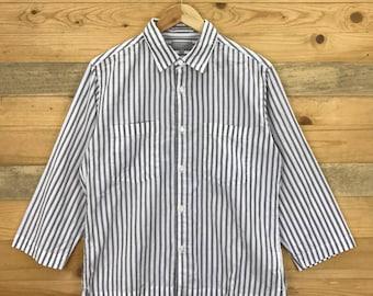 Rare! Vintage Margaret Howell Women Button Down Shirt Size S