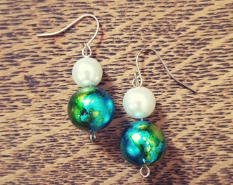 Ocean Pearl Earrings