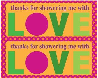 Showering Me with Love - Chikka Chikka Boom Boom Orange