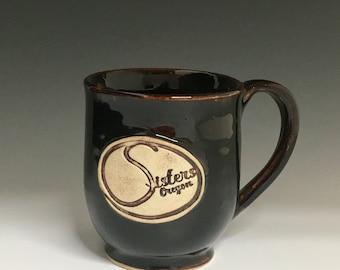 Sisters Ceramic Mug Handmade Sisters Oregon Mug