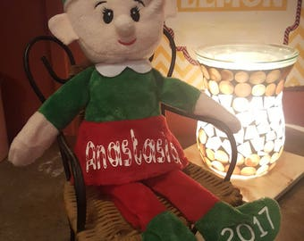 Personalized Christmas Elf