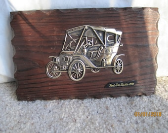 Model T Ford Wall Plaque