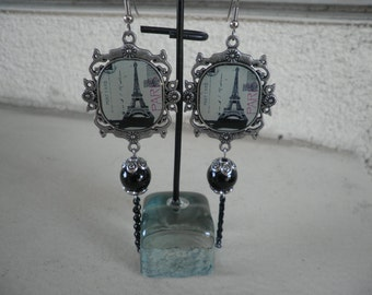 Sale Post Cards From Paris Earrings