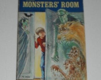 The Monsters' Room by Hope Campbell Illustrated by Lilian Obligado Vintage Softcover Scholastic Book TX 4435