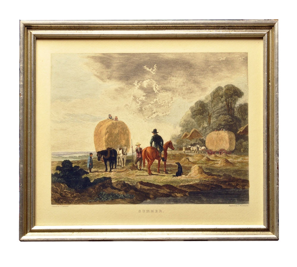 19th Century Genre Print Summer Wolstenholme/Dearman