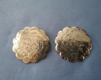Vintage Silver Scarf Pins