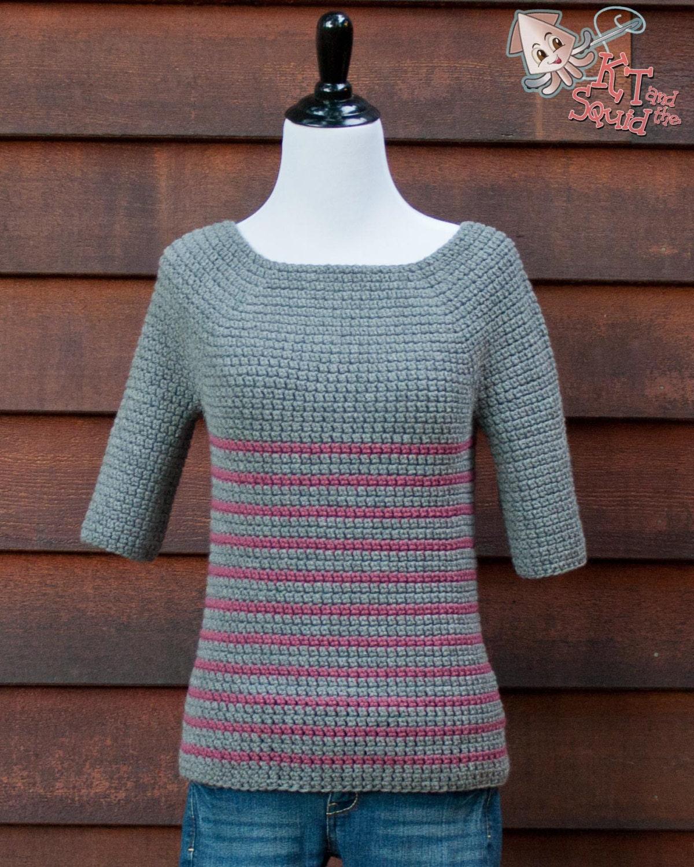 crochet sweater pattern. women\'s sweater pattern crochet