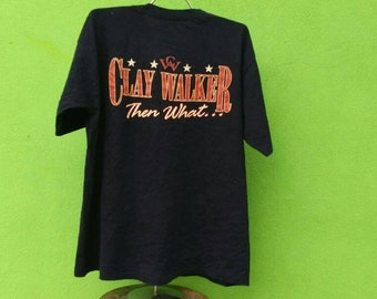 Vintage Clay Walker Then What Country Singer