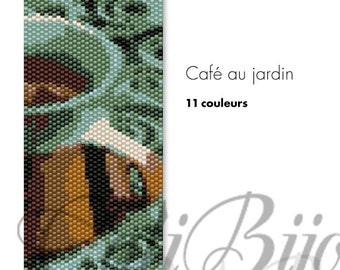Café au jardin -  PATTERN