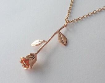 Rose charm Etsy