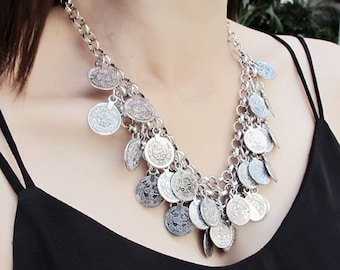 Boreas Turkish Coin Necklace