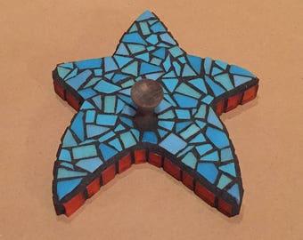 Mosaic Star Hook.