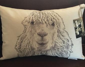 Alpaca Pillow / Stevie