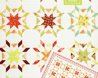 Starfish Quilt Pattern by Fig Tree & Co.