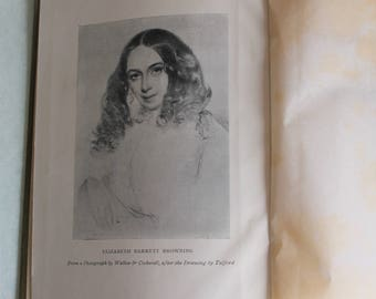 Antique: Elizabeth Barrett Browning Poetical Works/Oxford Complete Edition 1908