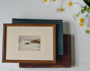 Vintage Signed & Framed Fine Art Print