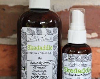 Natural Bug Repellent - Deet FREE - No Harmful Chemicals - non-toxic - Safe for Children - Bug Spray, Insect Repellent - Organic