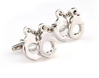 Handcuffs Cuff Links
