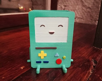 Adventure time inspired BMO pen stand