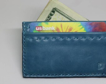 Wallet leather Wallet, card holder, card wallet, small wallet, coin purse, accessories, gift