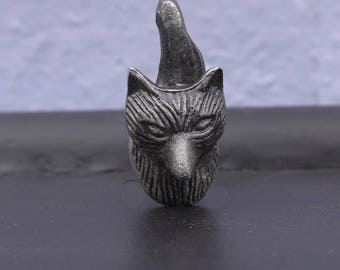 Mr Fox Drawer Knob - New fox animal furniture knob handle
