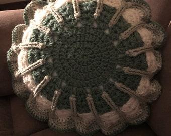 Round Plush Pillow