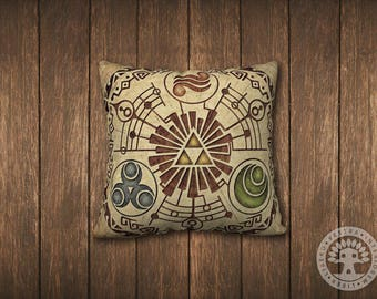 The Legend of Zelda: Gate of Time Square Pillowcase